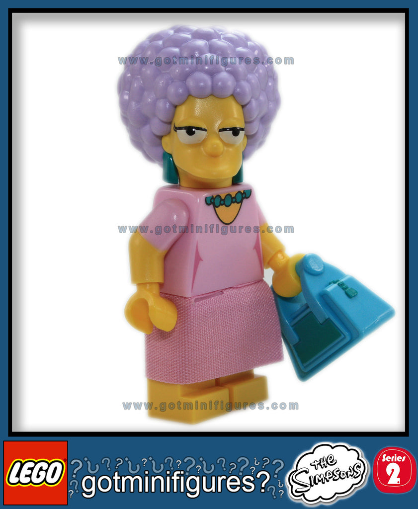 The SIMPSONS LEGO Series 2 -PATTY BOUVIER 71009