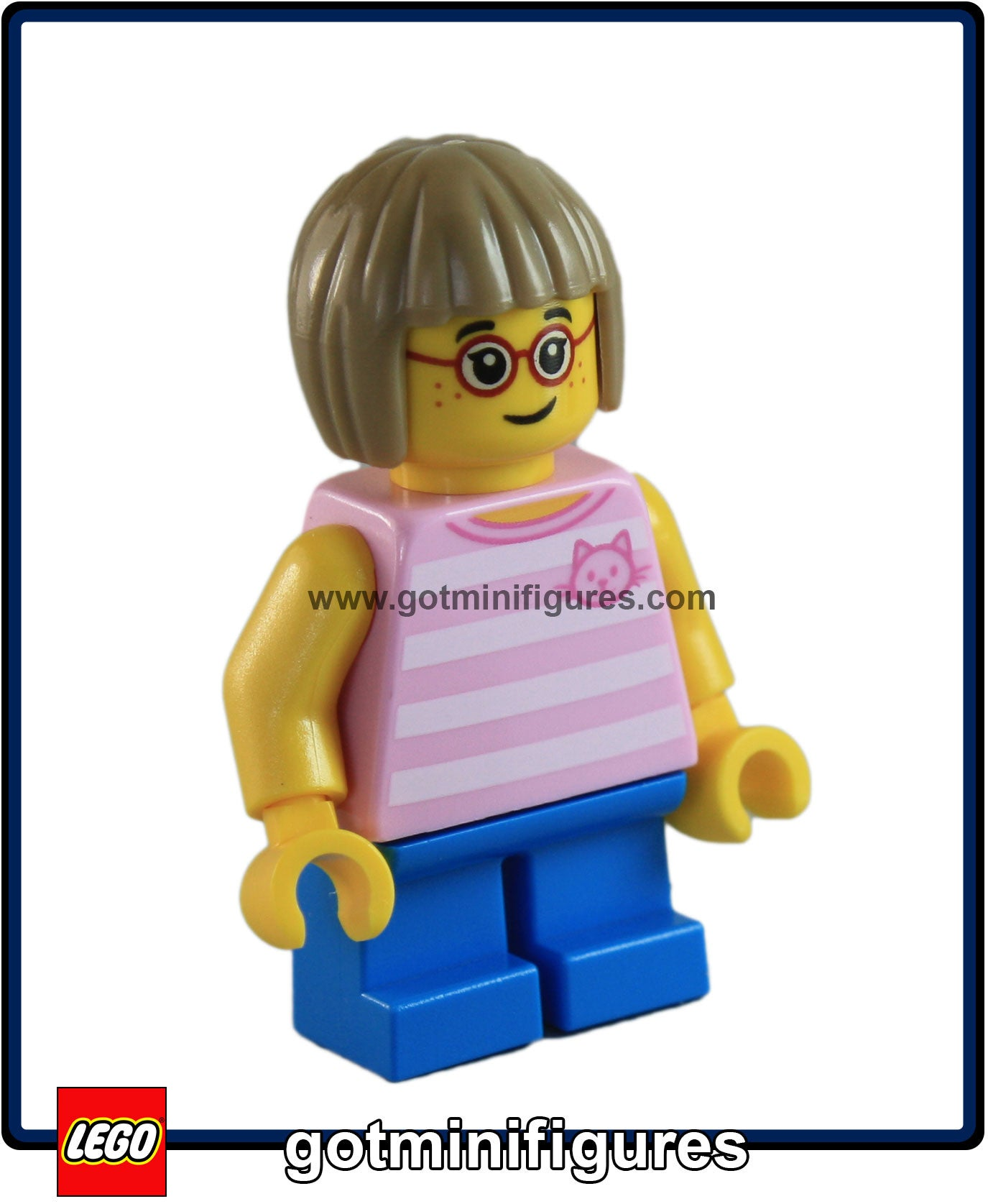 NEW LEGO GIRL MINIFIGURE MINIFIG PAINTER FROM 60134,FUN IN THE PARK
