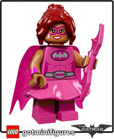 The Lego BATMAN Movie PINK POWER BATGIRL minifigure #71017