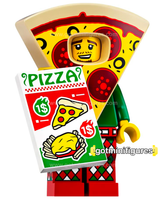 Series 19 LEGO PIZZA COSTUME GUY minifigure #71025