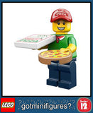 LEGO SERIES 12 PIZZA DELIVERY MAN minifigure #71007