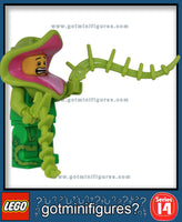 LEGO SERIES 14 - PLANT MONSTER - Monsters minifigure #71010