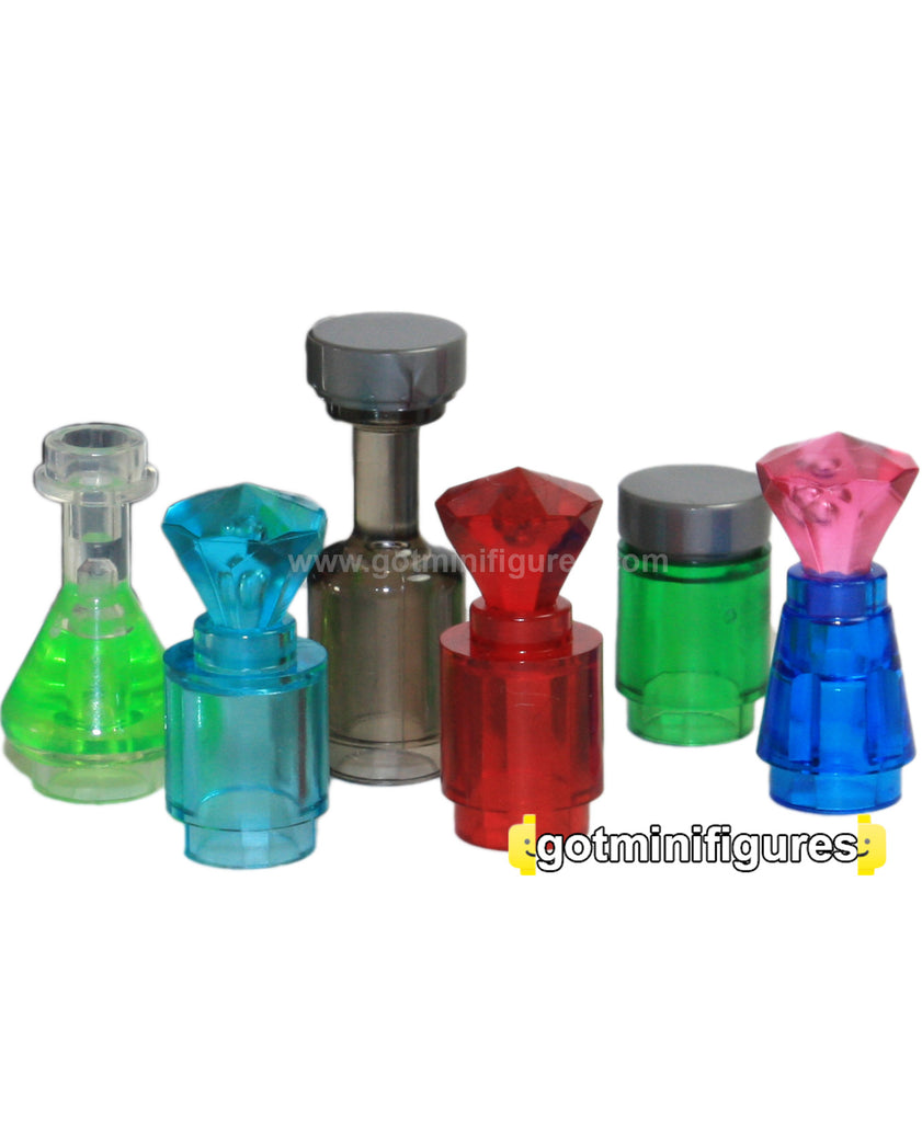 LEGO BOTTLE OF MAGIC POTION PACK 11pcs [Transparent]