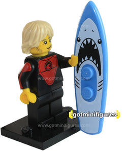 Series 17 LEGO PROFESSIONAL SURFER minifigure 71018