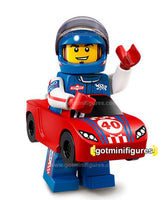 Series 18 LEGO RACE CAR GUY minifigure 71021