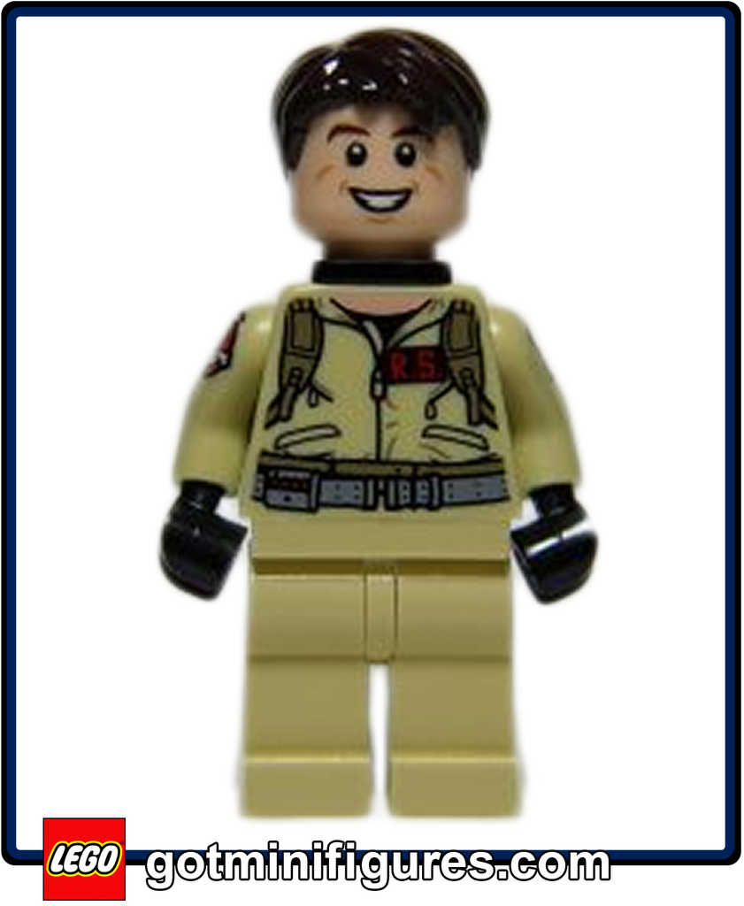 LEGO Ghostbusters DR RAYMOND STANTZ (Firehouse) Ray minifigure 75827