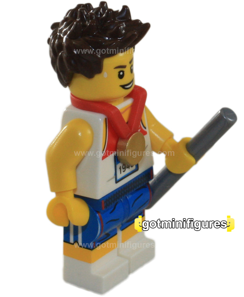 LEGO Olympic RELAY RUNNER Team GB minifigure 8909
