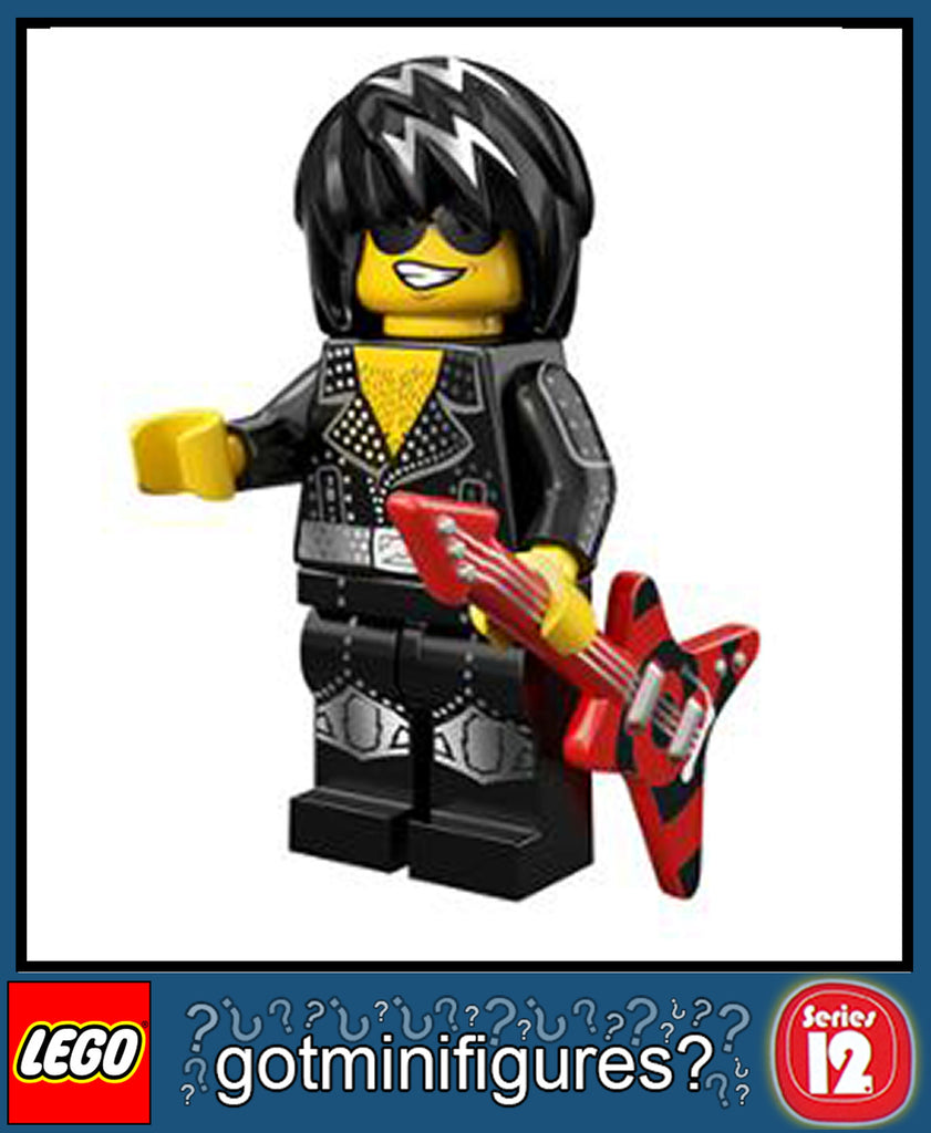 LEGO SERIES 12 ROCK STAR minifigure #71007