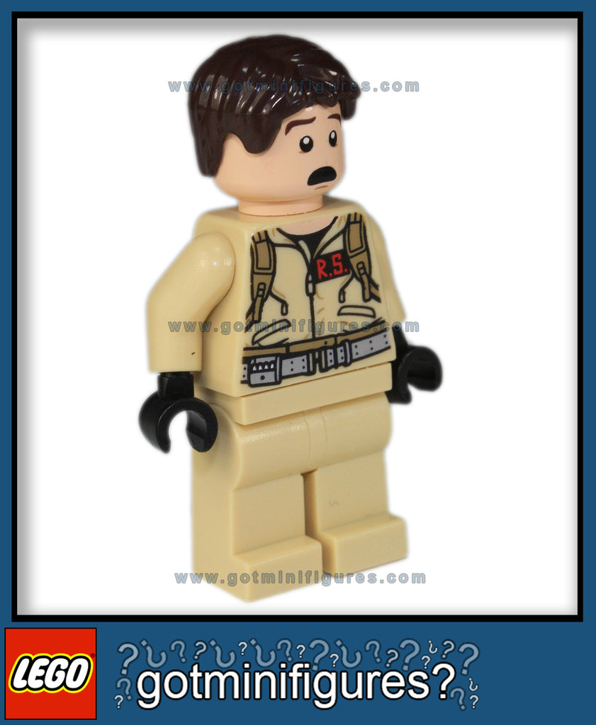 LEGO DR. RAYMOND (RAY) STANTZ (Ghostbusters Ecto-1)  minifigure #21108