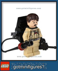 LEGO DR. RAYMOND (RAY) STANTZ (Ghostbusters Ecto-1)  minifigure w/ accessories #21108