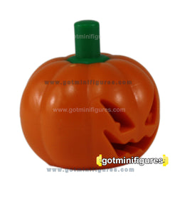 LEGO Pumpkin Head mask jack o' lantern (fits over head)