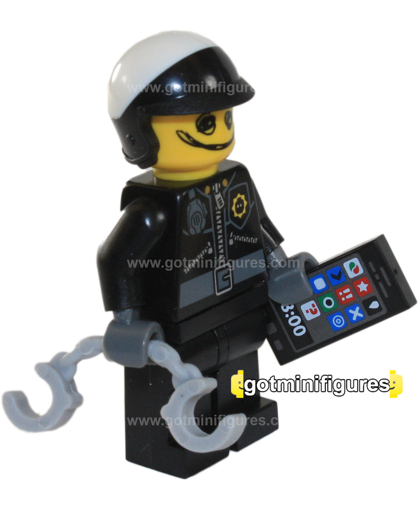 The LEGO MOVIE Series - SCRIBBLE-FACE BAD COP - minifigure NEW 71004