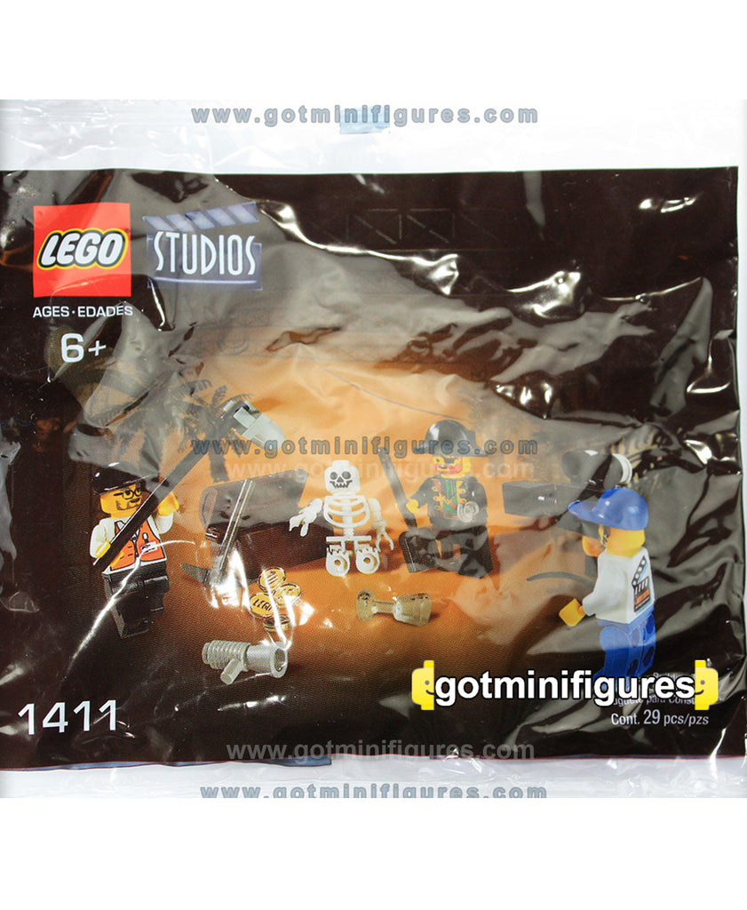 LEGO Studios PIRATES TREASURE HUNT #1411