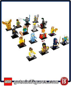 LEGO SERIES 15 - SET OF 16 - minifigures (x16) #71011