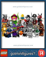 LEGO SERIES 14 - SET OF 16 - Monsters minifigures (x16) #71010