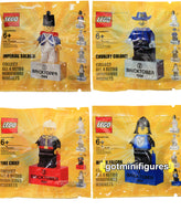LEGO Bricktober SET OF 4 Imperial Black Falcon Fire minifigure minifig BRAND NEW