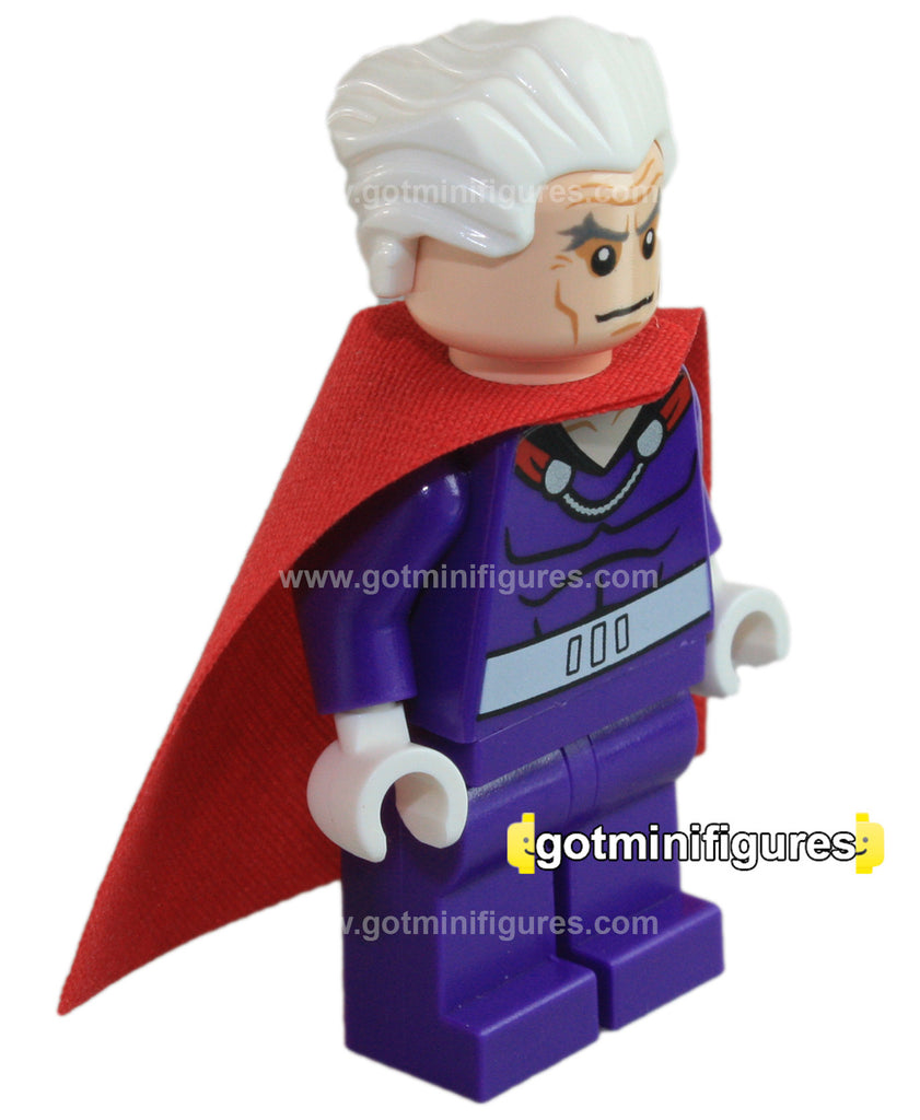 LEGO DC Super Heroes MAGNETO Dk purple Outfit minifigure #76022