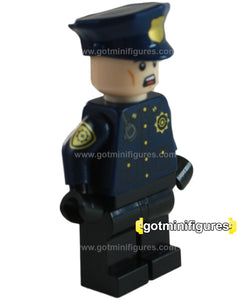 LEGO Super Heroes GCPD Officer, Male (The Batman Movie) minifigure #70912