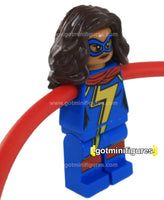 LEGO Super Heroes MS. MARVEL extended arms, large hands minifigure #76076