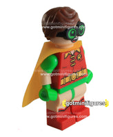 LEGO Super Heroes ROBIN green glasses  (The Batman Movie) minifigure #70902