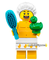 Series 19 LEGO SHOWER GUY minifigure #71025