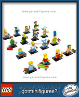 The SIMPSONS LEGO Series -  (16) - COMPLETE minifigure set 71005