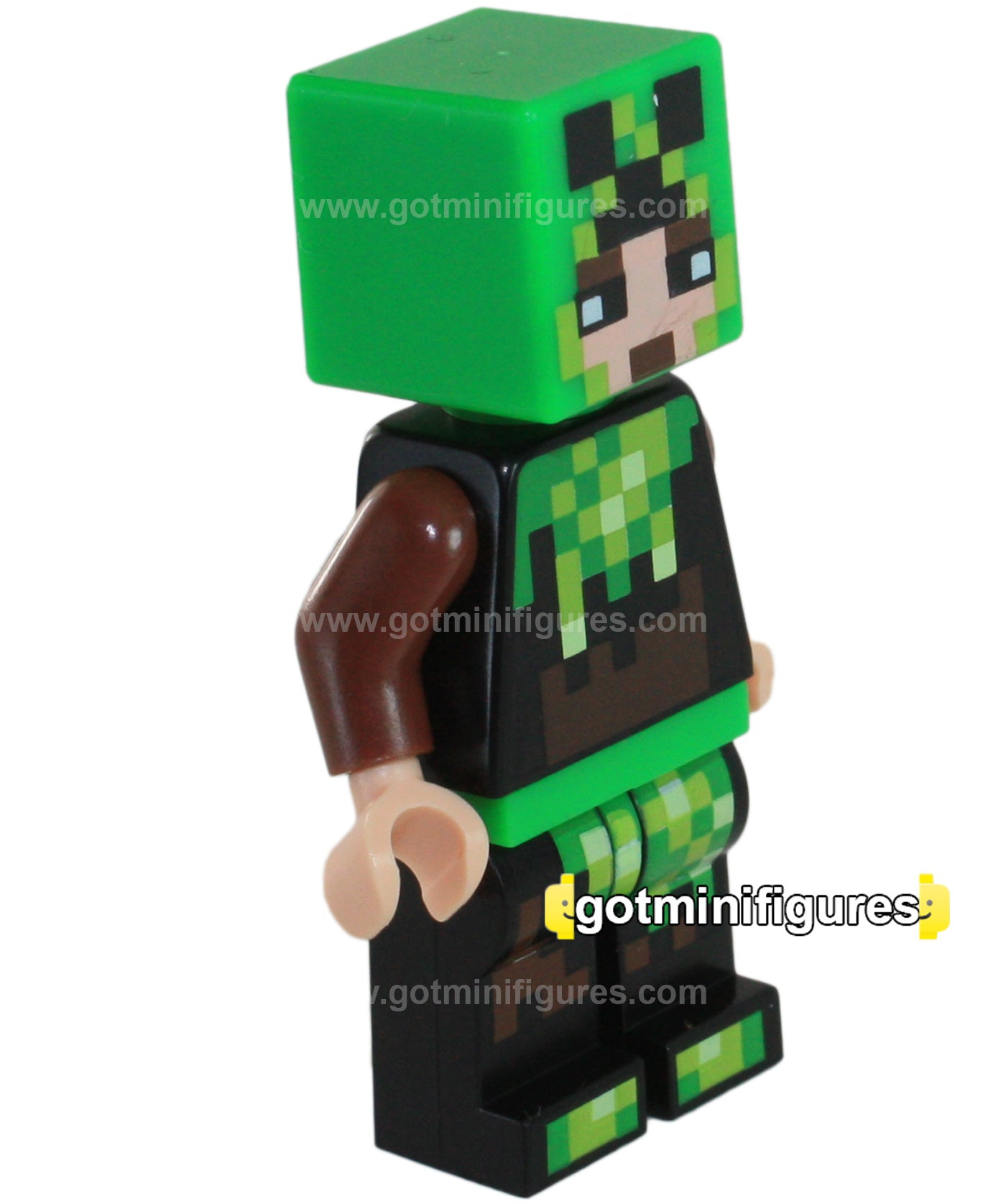 LEGO MINECRAFT - SKIN 06 Pixelated creeper costume #853609  sc 1 st  gotminifigures & LEGO MINECRAFT - SKIN 06 Pixelated creeper costume #853609 ...
