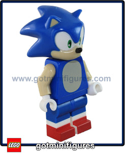 LEGO SONIC THE HEDGEHOG minifigure Dimensions