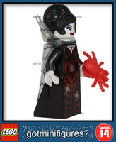 LEGO SERIES 14 - SPIDER LADY - Monsters minifigure #71010
