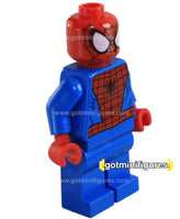 LEGO Super Heroes SPIDER-MAN Black Web Pattern minifigure #76057