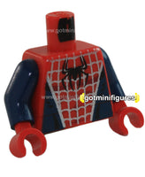 LEGO - TORSO (Dark Blue and Red SPIDER-MAN A) for minifigure