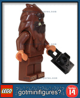 LEGO SERIES 14 - SQUARE FOOT - (Bigfoot) Monsters minifigure #71010