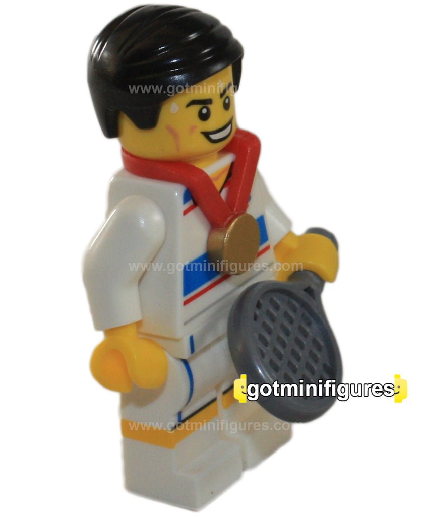 LEGO Olympic TACTICAL TENNIS PLAYER  minifigure  8909