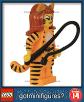 LEGO SERIES 14 - TIGER WOMAN - Monsters minifigure #71010