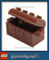 LEGO Reddish Brown TREASURE CHEST