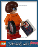 LEGO SCOOBY DOO - VELMA w/ Magnifying Glass and Map minifigure #75904