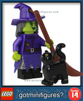 LEGO SERIES 14 - WACKY WITCH - Monsters minifigure #71010
