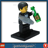 Series 9 LEGO WAITER minifigure 71000