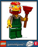 The SIMPSONS LEGO Series 2 -GROUNDSKEEPER WILLIE 71009