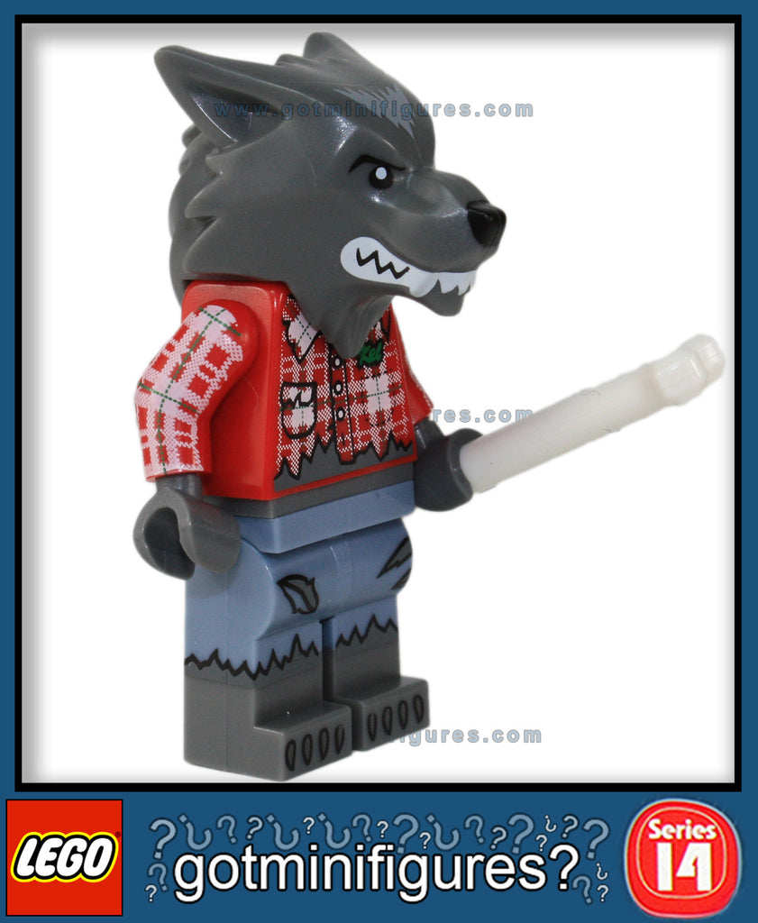 LEGO SERIES 14 - WOLF GUY - Monsters minifigure #71010