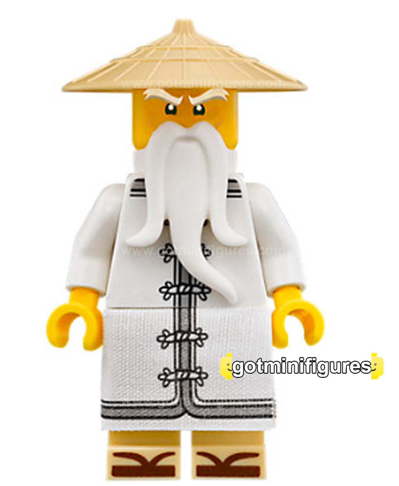 Lego the ninjago movie sensei wu zori sandals minifigure - Sensei ninjago ...