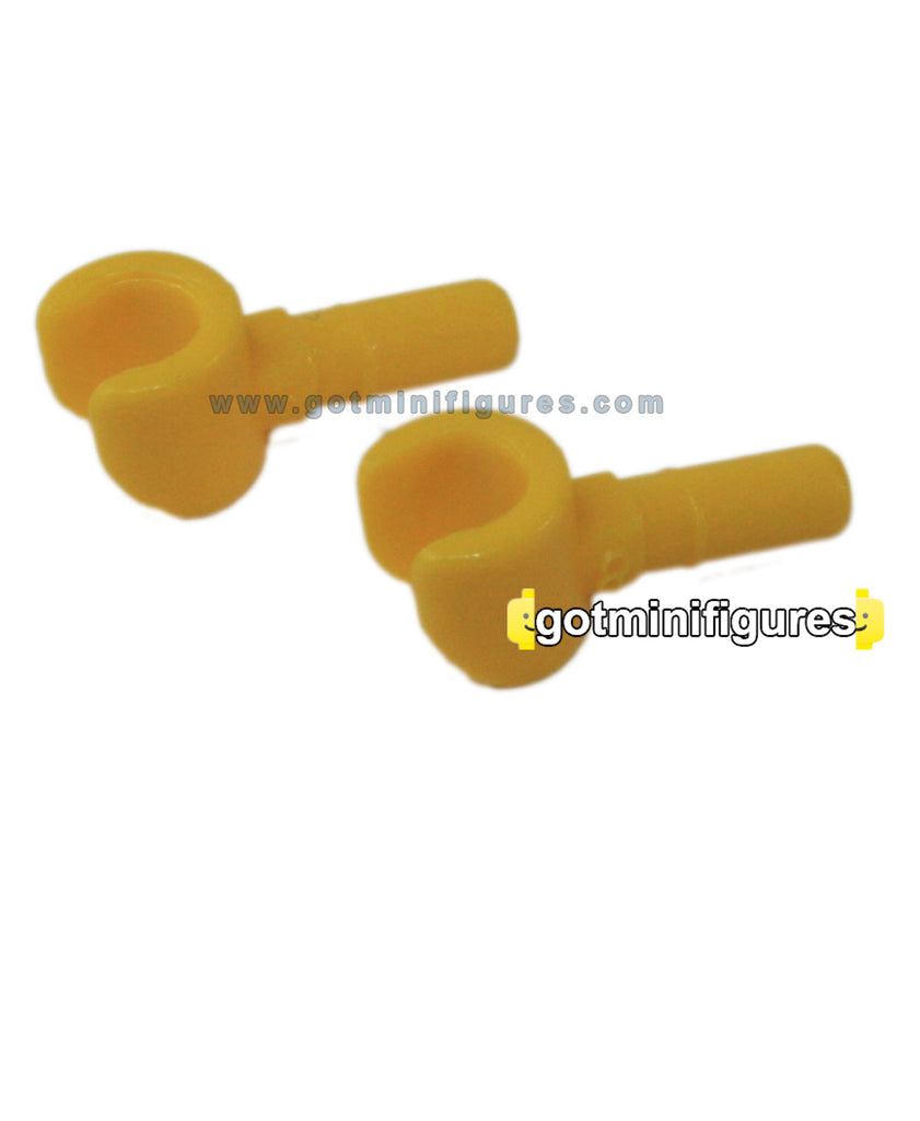 LEGO HANDS (Yellow coloured, X2, pair) for minifigure