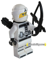 LEGO® The Ninjago Movie ZANE white ninja minifigure 70618