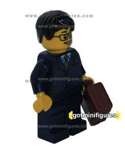 LEGO Alien Conquest BUSINESS MAN minifigure