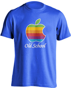 Apple Old School Logo