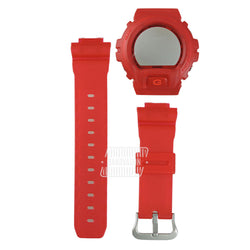Casio G-Shock DW-6900CL-4 Clot Red Jelly Hardcase with Resin Band & Bezel