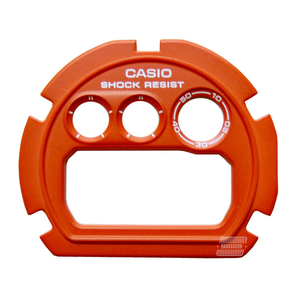 Casio G-Shock DW-6900MM-4 Crazy Colors Orange Watch Dial / Faceplate