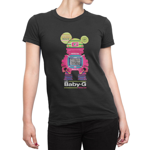 G-Shock BearHero X-Girl BGD-500XG-4 Women's T-Shirt