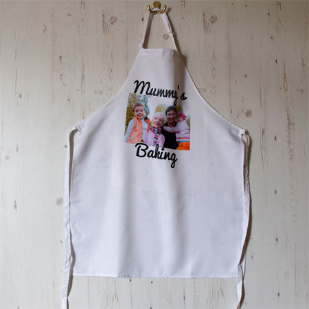 Personalise an Adults Photo Apron