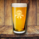 Established Pint Glass